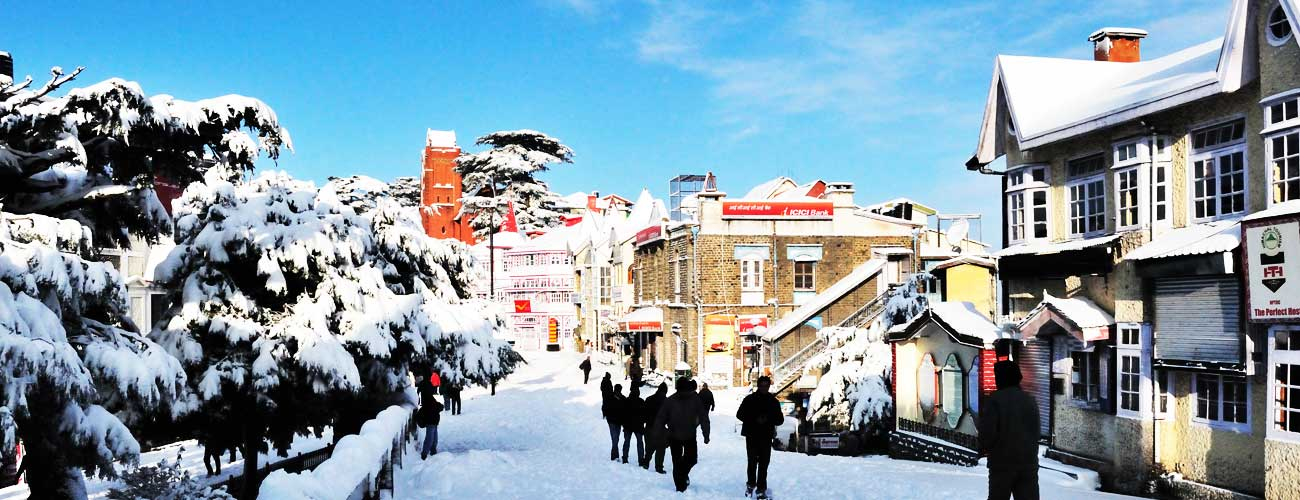 Shimla in winter