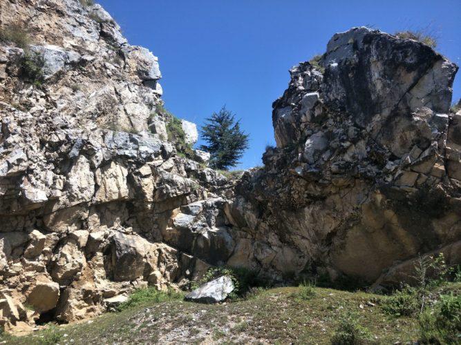 Rock mountains naldhera heights